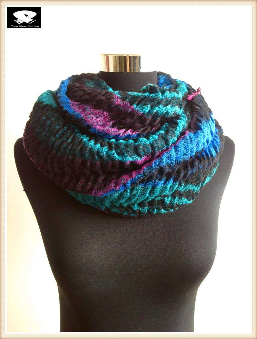 Super soft acrylic scarf, china scarf factory