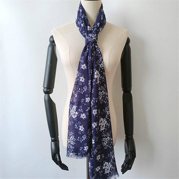 Custom printed fabric manufacturers wholesale bamboo scarves