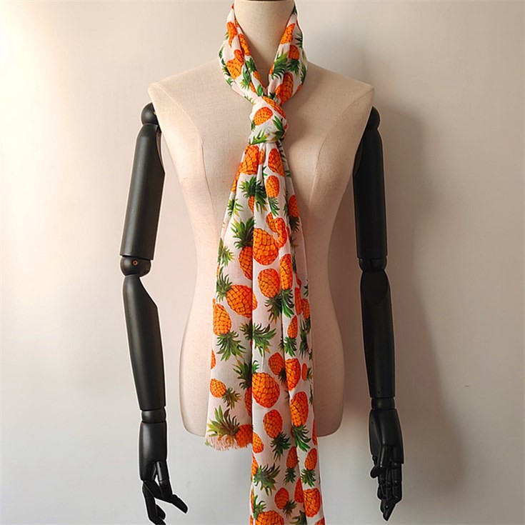 Digital printed scarf factory custom printed 100% bamboo scarves wholesale