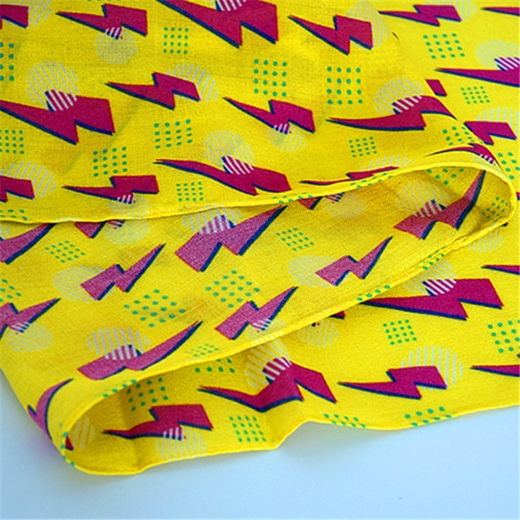 Digital printed scarf factory printing bamboo scarves wholesale
