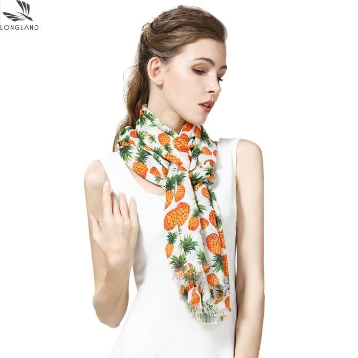 Digital printed scarf factory printing bamboo scarves wholesale