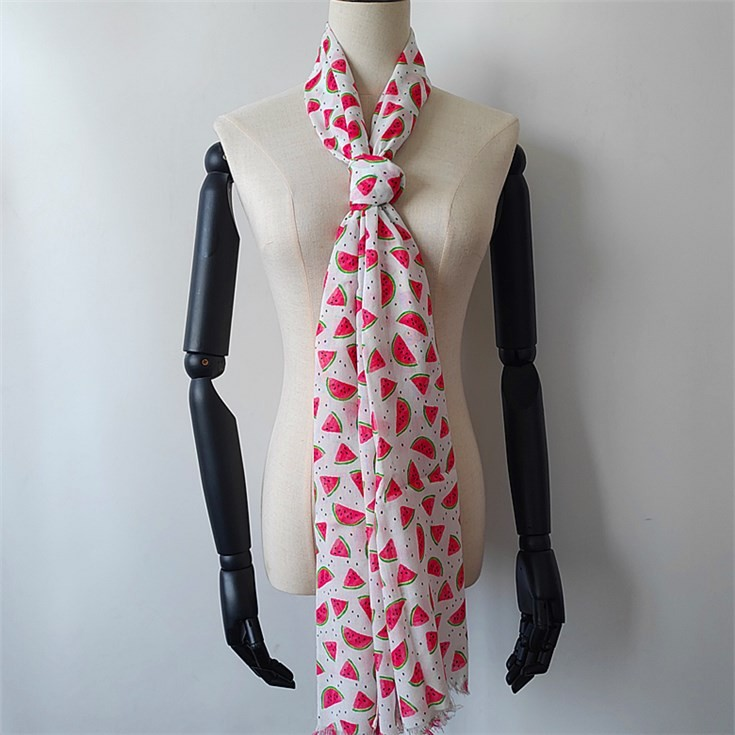 Digital printed scarf factory printing photos on 100% Bamboo Scarf Wholesale