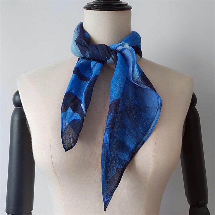 Digital printed scarf factory printing patterned bandanas