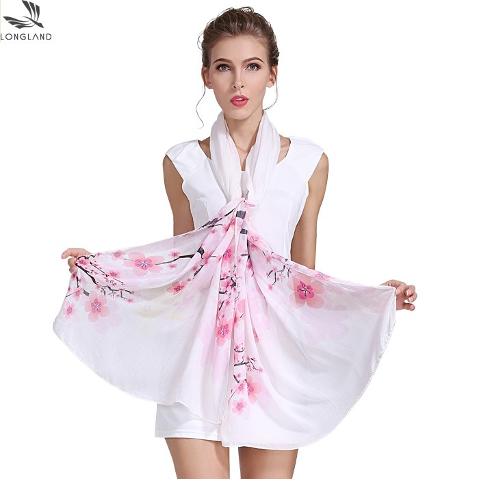 Luxury mixed silk digital printed shawl scarf in our china scarf factory