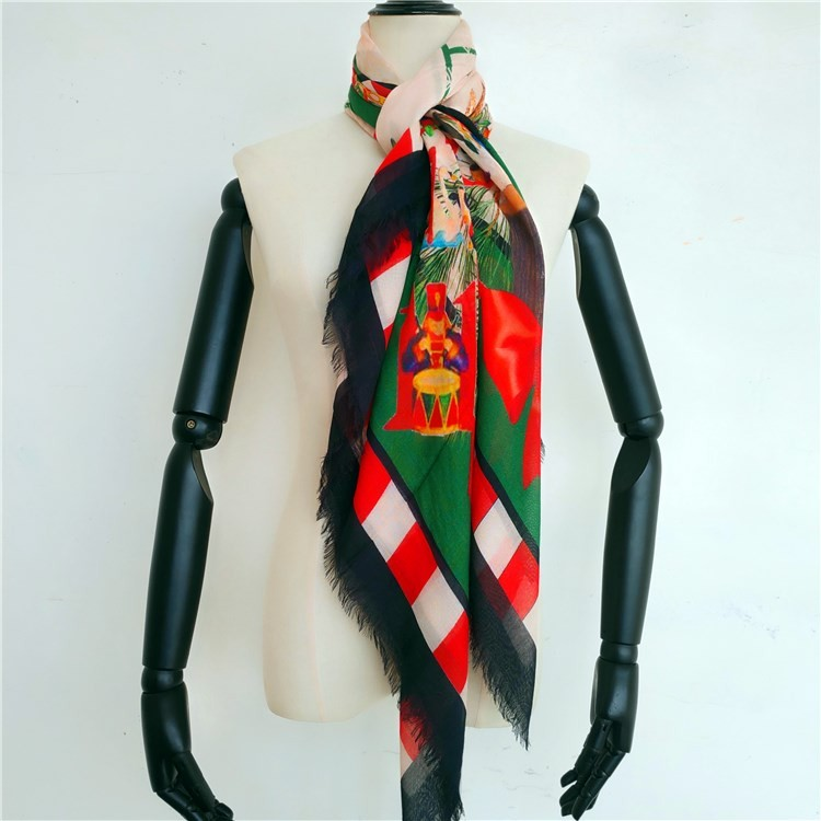 Custom scarf printing silk modal scarf wholesale