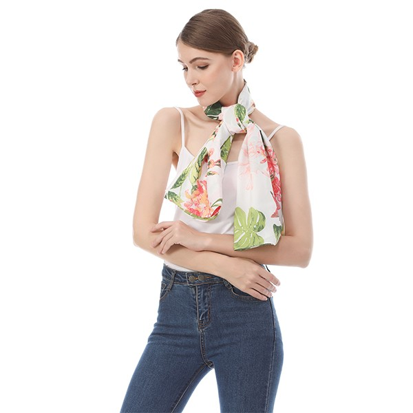 Cape scarf supplier manufacturer digital printed silk cape scarf shawl