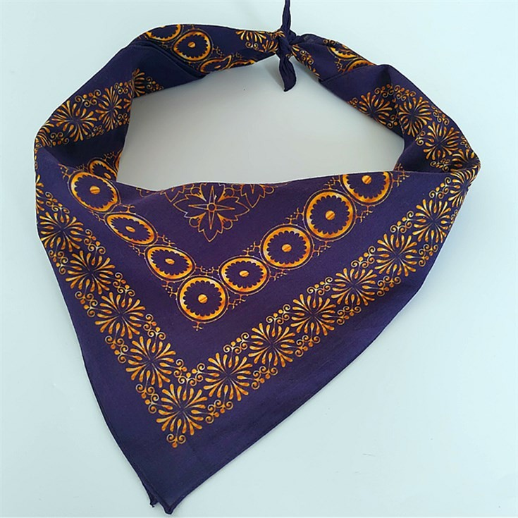 High quality custom pattern bandanas bulk in scarf supplier china