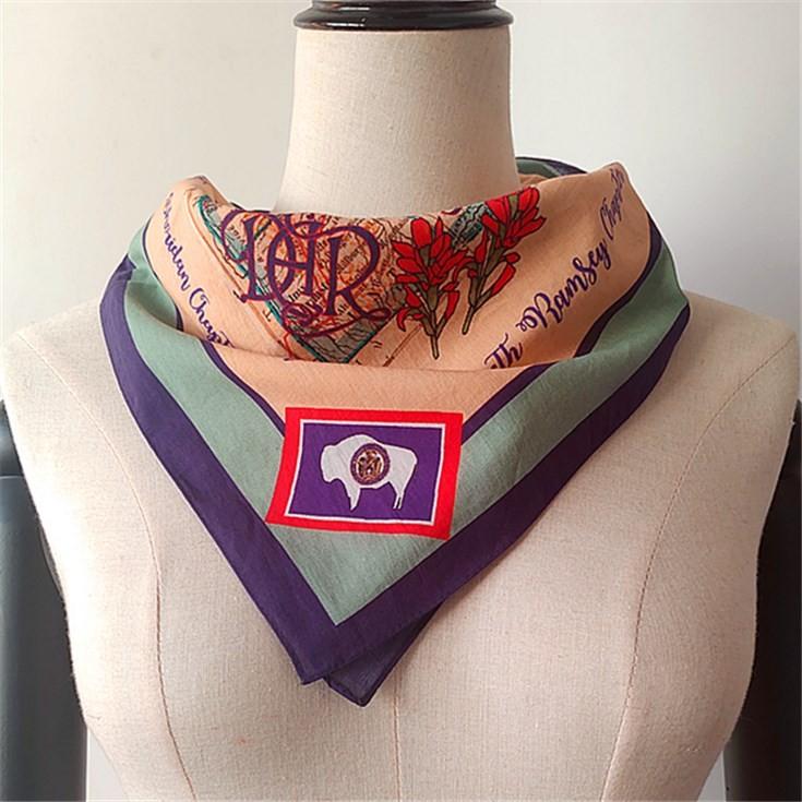 Scarf factory custom handkerchief pocket squares printing
