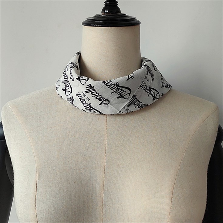 Scarf factory custom printed bandanas no minimum