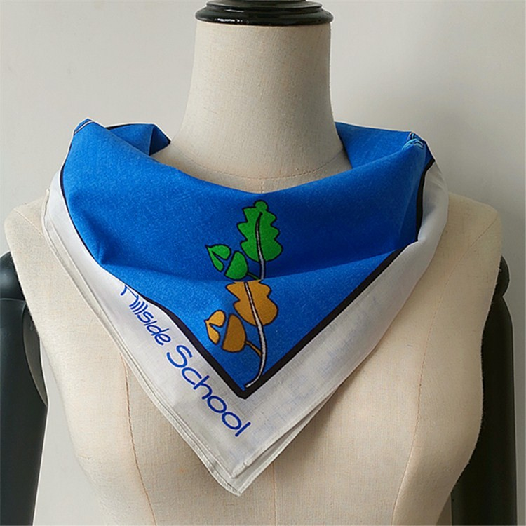 Scarf factory custom printed bulk bandanas no minimum