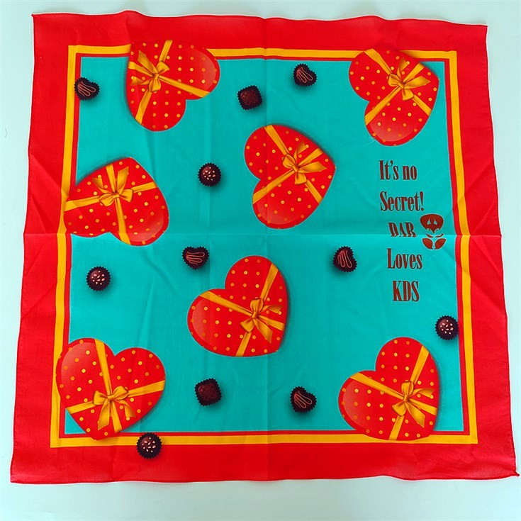 Scarf factory design your own handkerchief