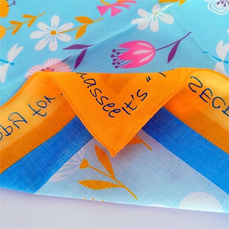 Scarf factory wholesale custom bandanas bulk bandanas