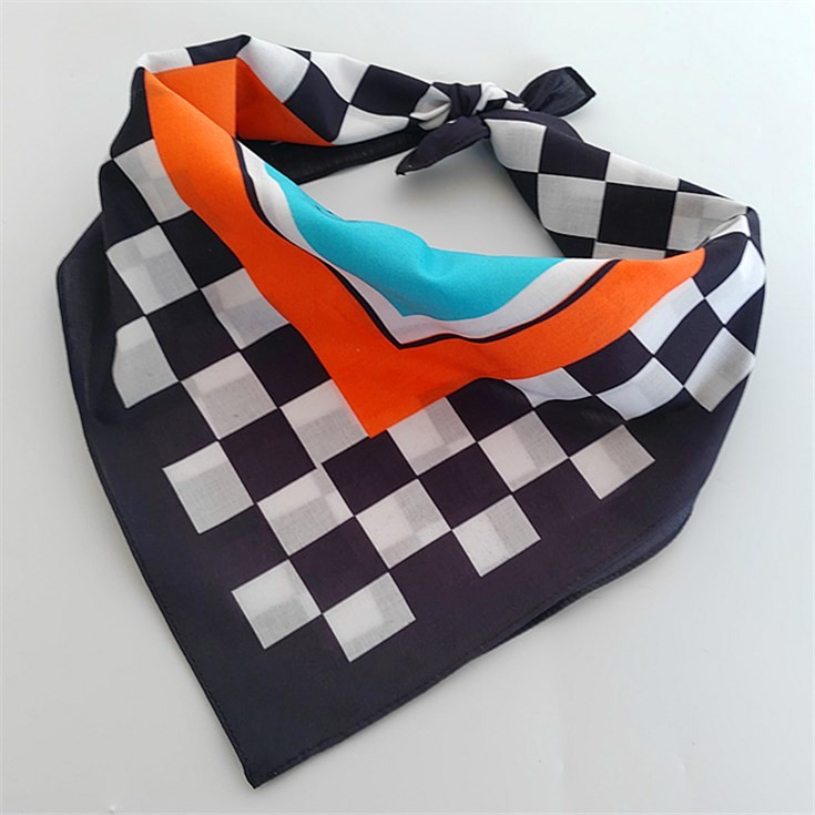 Scarf factory wholesale digital printed custom cotton bandanas bulk