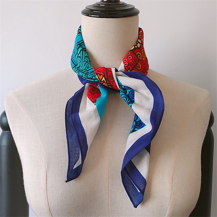 Scarf printer custom printed cotton bandana scarves no minimum