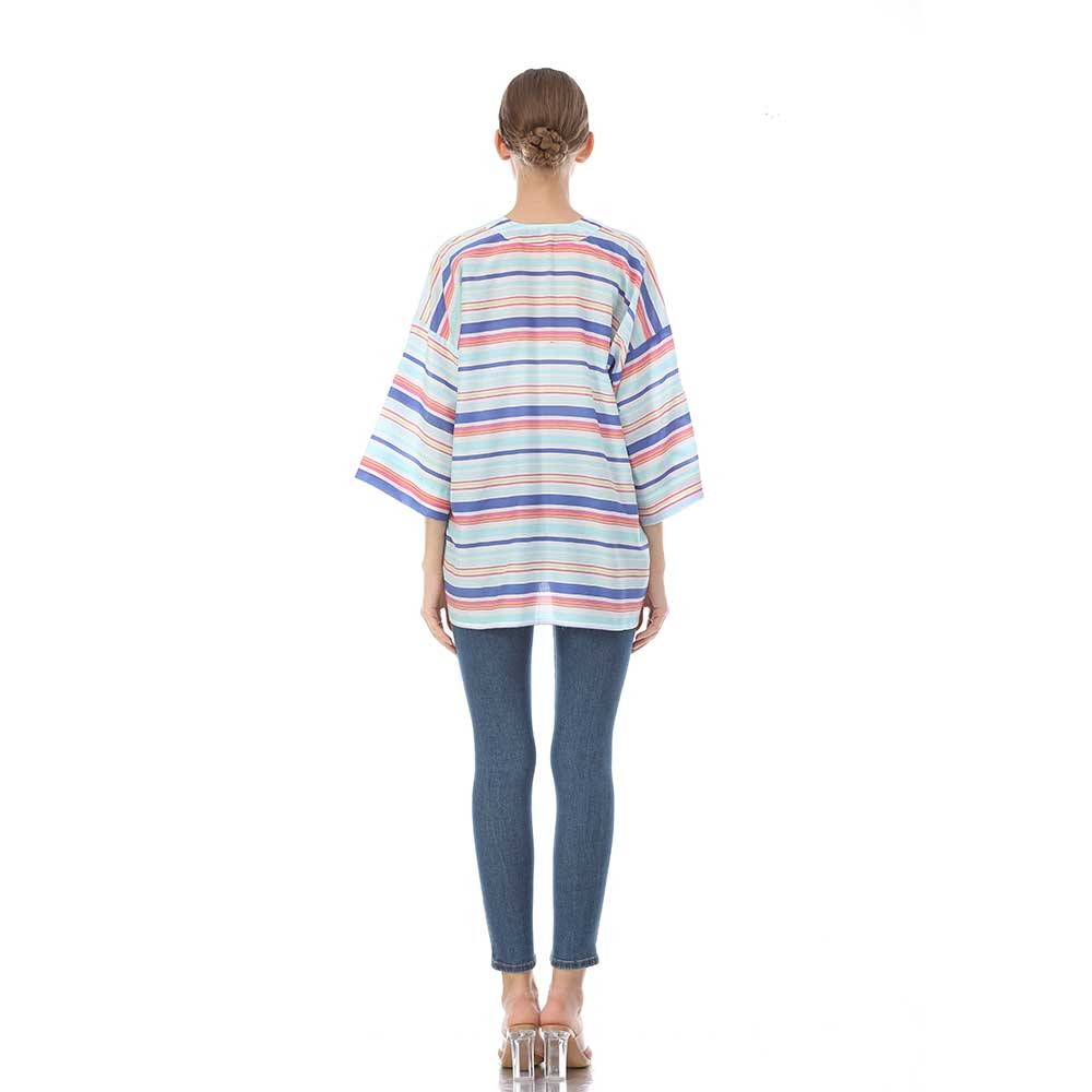 Kimono maker custom digital printed silk kimono jacket for sale