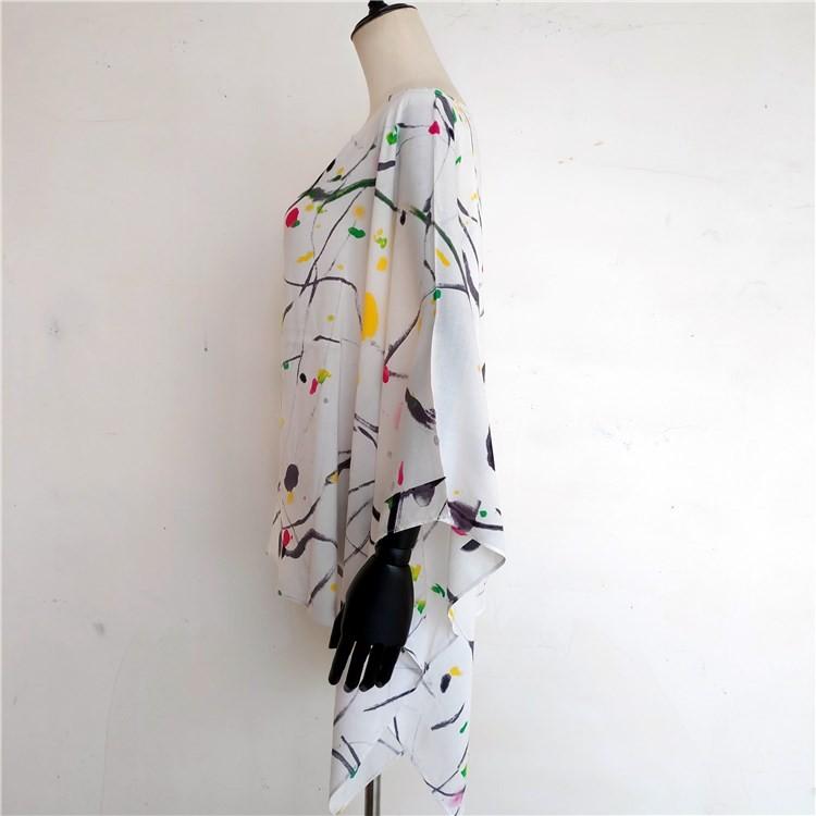 Kimono maker custom kimono with softer viscose