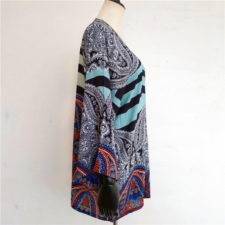 Kimono maker custom printed kimono cardigan jacket