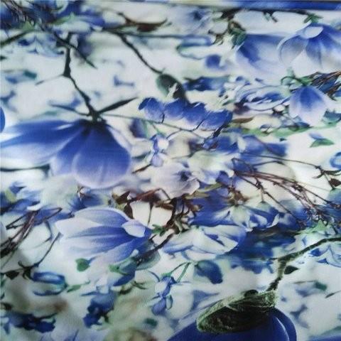 Stylish floral custom scarf in scarf factory