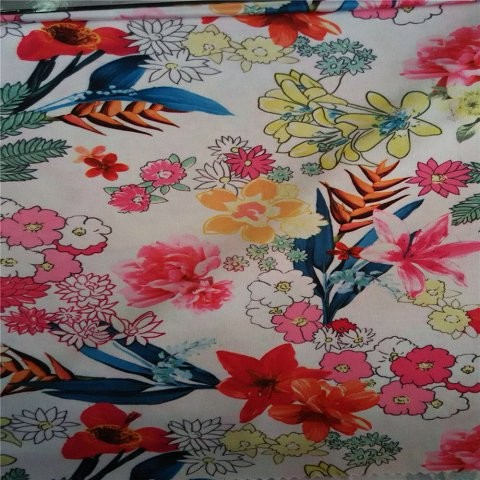 Super fashion floral custom scarf in scarf factory