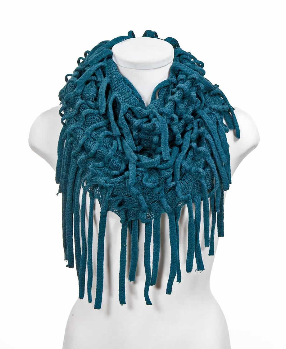 Blue infinity scarves,yours can bespoke
