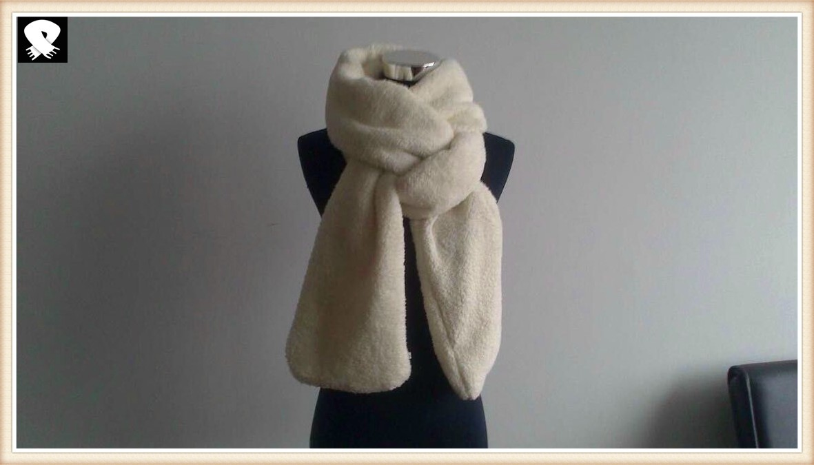 Fuzzy and super warmer winter infinity scarves