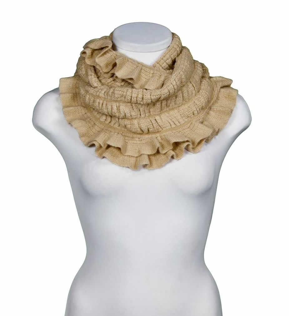 Knitted infinity scarf, yours can bespoke