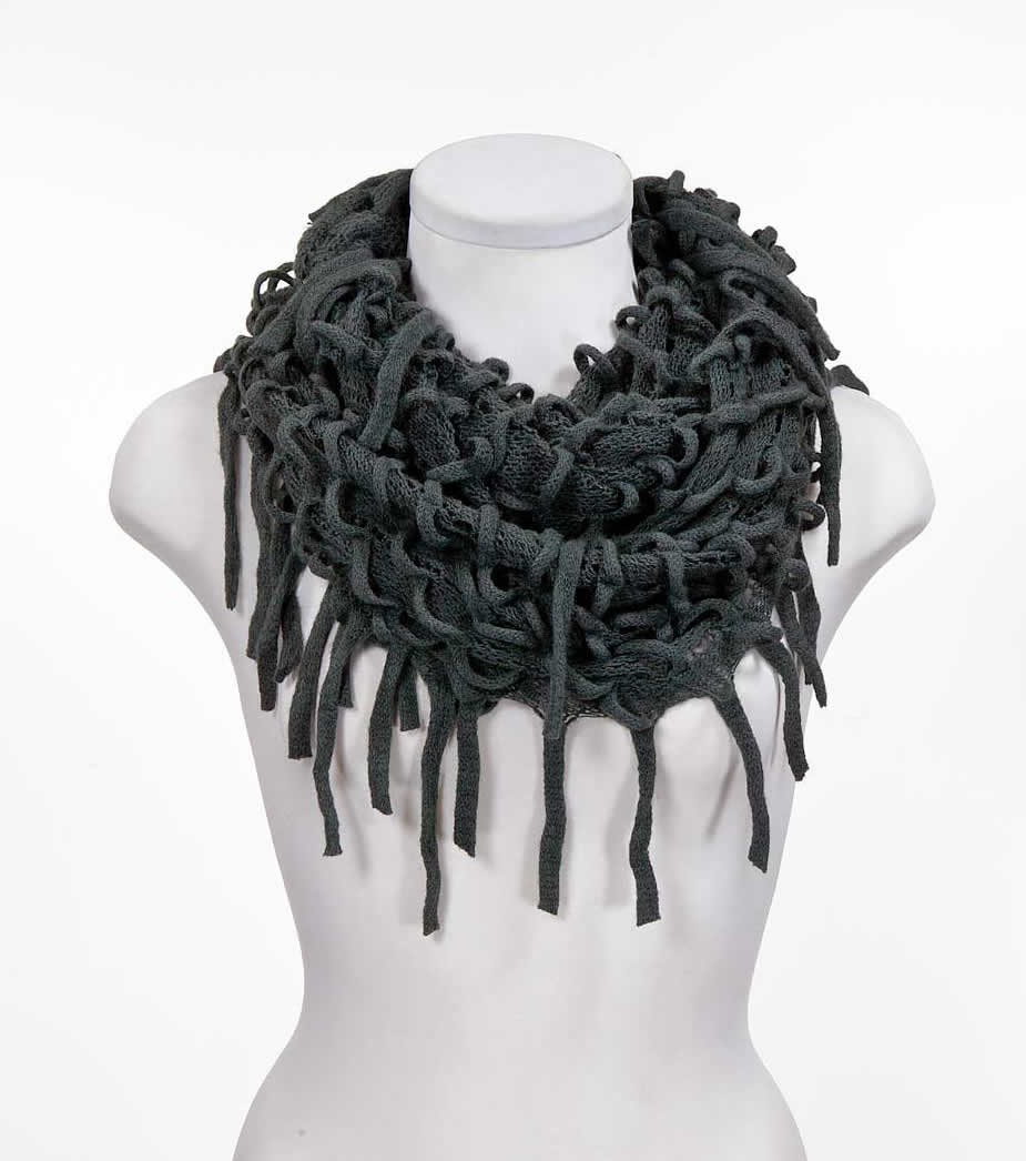 Light grey infinity scarves,yours can bespoke