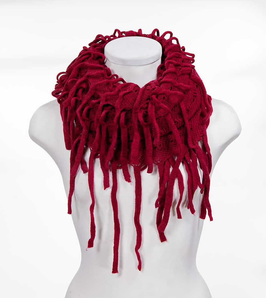 Long fringes infinity scarves,yours can bespoke