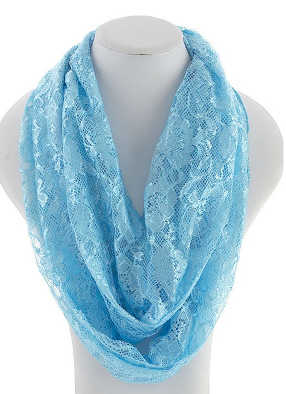 Scarf factory, infinity laces scarves
