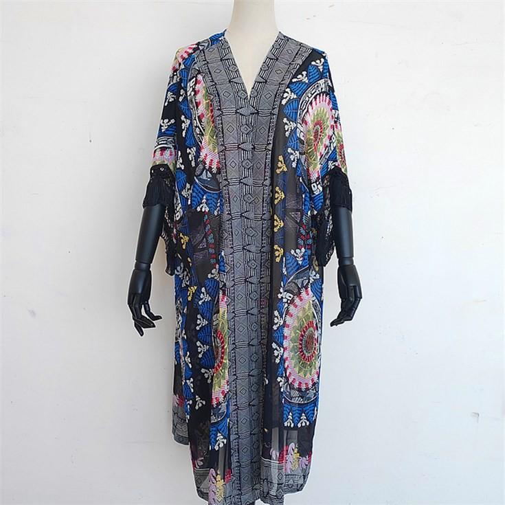 Custom kimono maker custom digital printed kimono