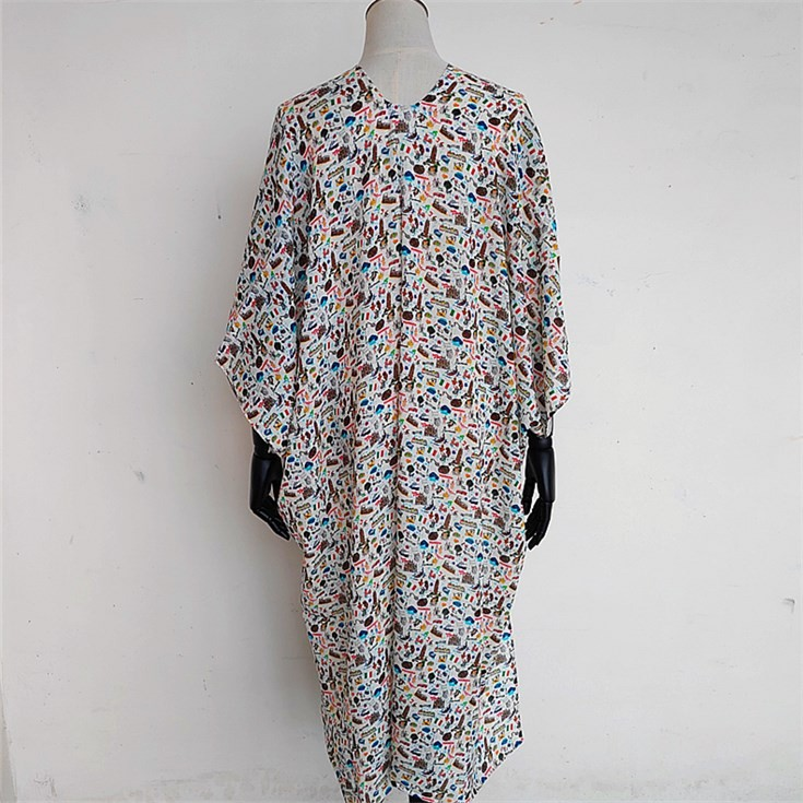Custom kimono maker supply with the kimono and scarf printing service