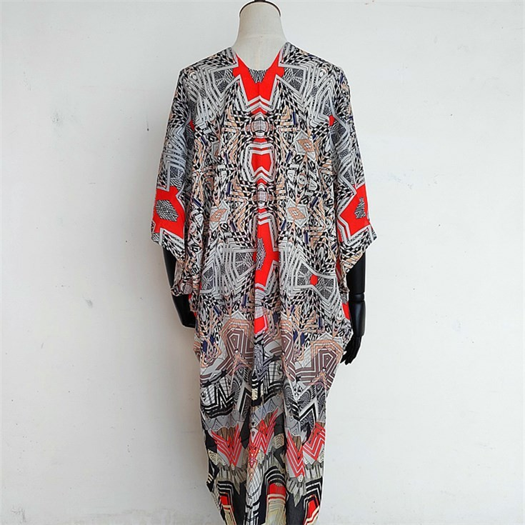Scarf printer and custom kimono maker digital printed thicker shawl