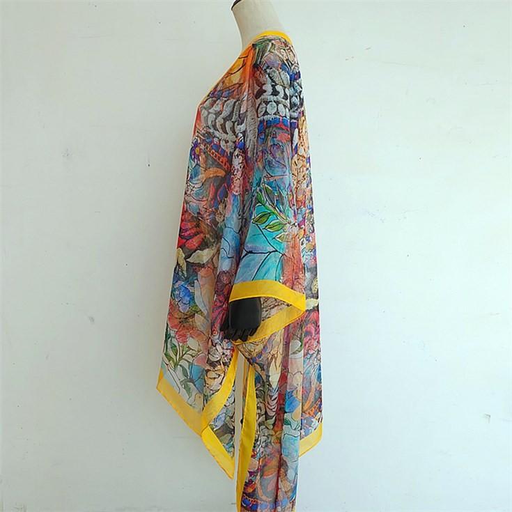 Custom kimono maker custom printed kimono robe