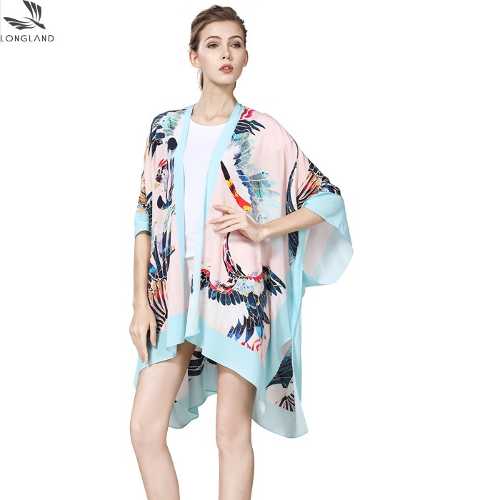Digital printed scarf factory custom made printed shawl