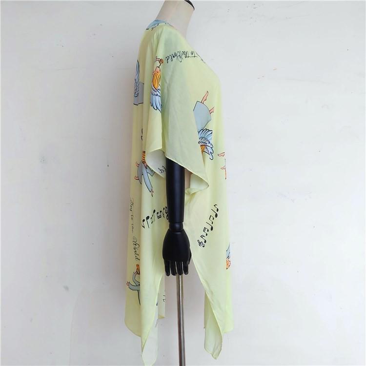 Kimono vendor custom long kimono cardigan swimwear cover up dress