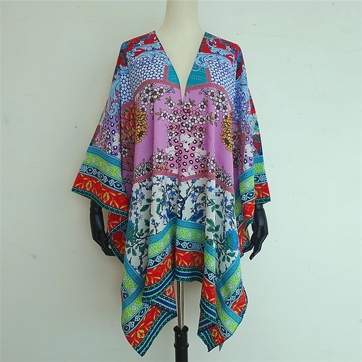 Scarf manufacturer custom kimono maker digital printed custom scarves