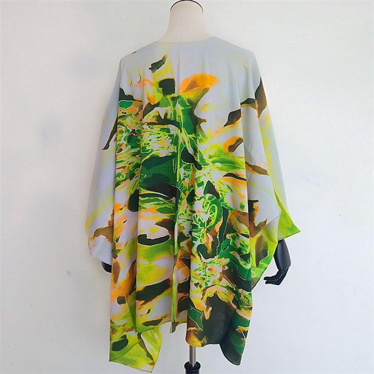 Scarf manufacturer custom printed kimono wholesale kimono cardigan