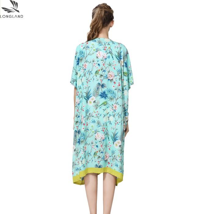 Silk scarf manufacturer custom made printed shawl