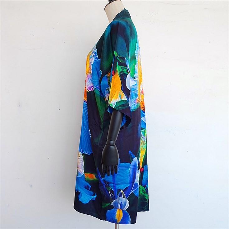 kimono maker custom printed kimono cardigan