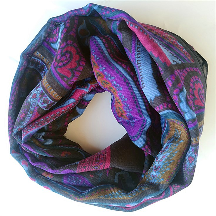 Scarf printer wholesale scarf printing for men's fashion scarf