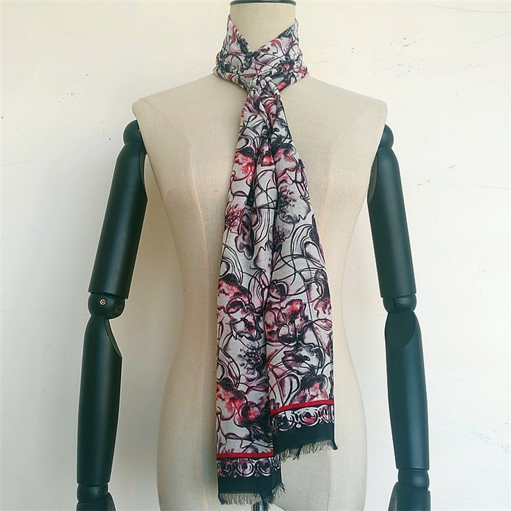Wholesale scarf suppliers custom photo scarf