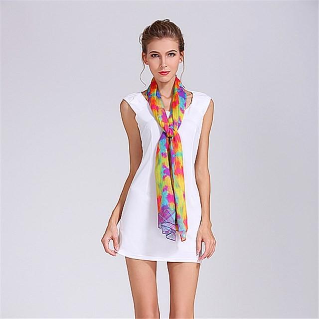 China scarf factory custom digital printed shawl scarf