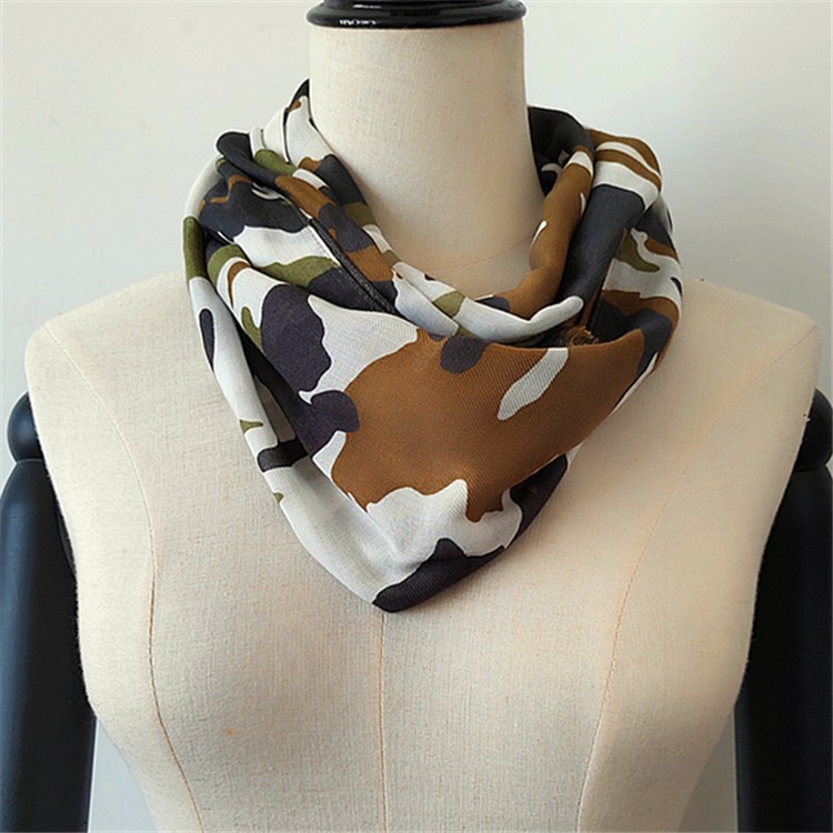 Silk scarf manufacturer digital printed silk cashmere scarves
