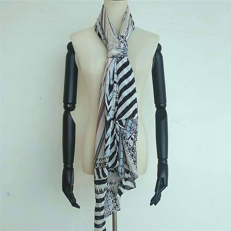 Scarf manufacturer custom 100 modal scarves with amazing softer handle feel