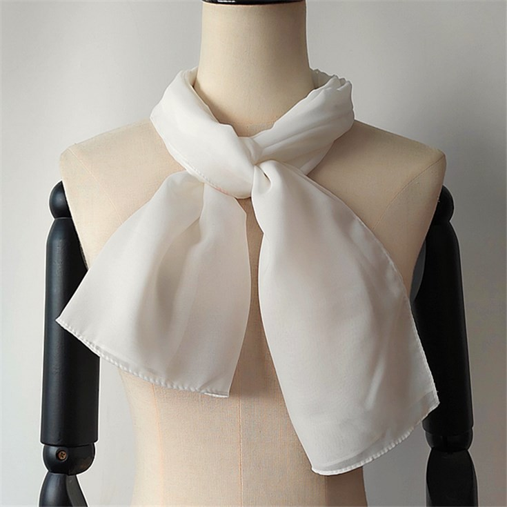 Scarf manufacturer wholesale white silk scarves for dyeing