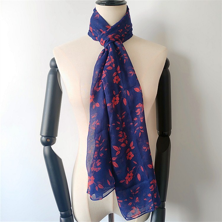 Digital printed scarf factory personalized gifts scarves in bulk