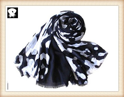 Scarf factory, leopard scarf with super soft feel