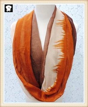 Scarf factory, vivid color infinity scarves