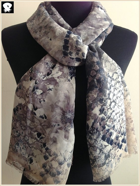 Scarf factory,polyester scarf with silky handle