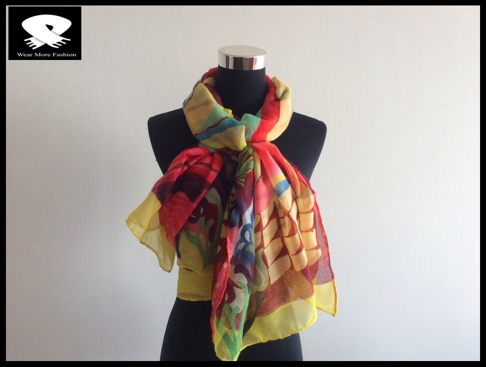 Stylish scarf made from scarf factory in China